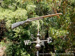 shotgun wind vane