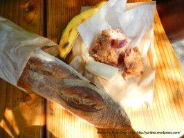 rhubarb pear ginger scone