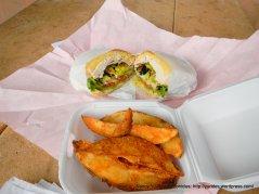 turkey sandwich-mojo potatoes