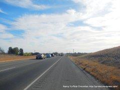 CA-46 E traffic stop