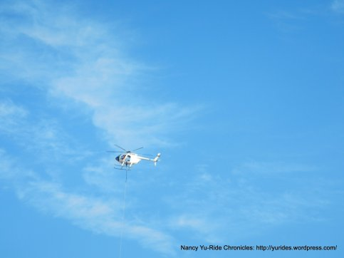 copter overhead