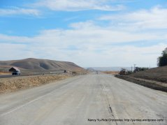 CA-46 E road work
