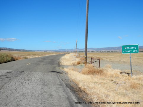 xing into Monterey County