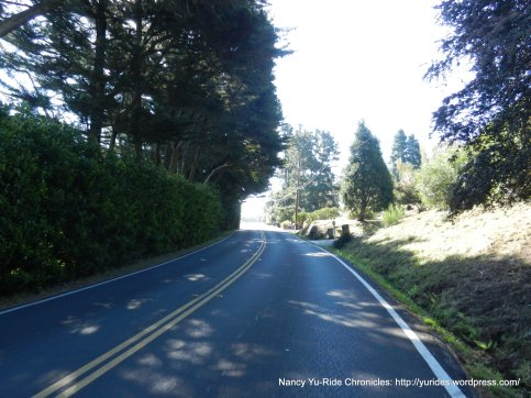 climb up sequoia valley rd