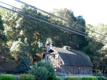 beautiful wooden barn