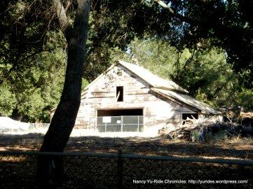 old ranch barn