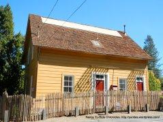 orinda historic yellow house