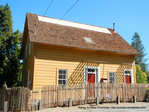 orinda historic yellow house