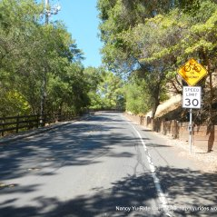 steep climb reliez valley rd
