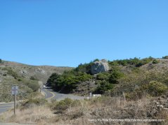 near steep ravine