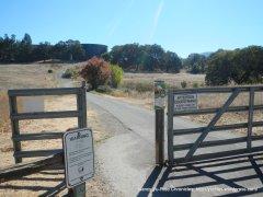 to paved bike trail