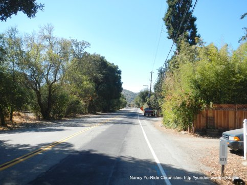 foothill rd to sunol