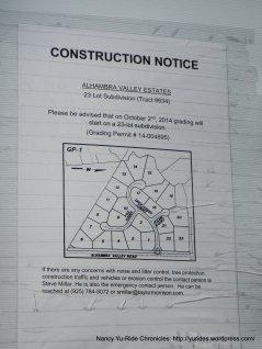 23 lot subdivision