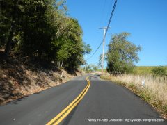 mt veeder rd steep climb