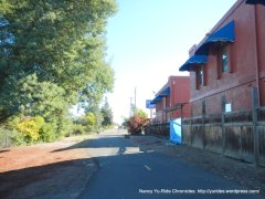 bike path to solano ave