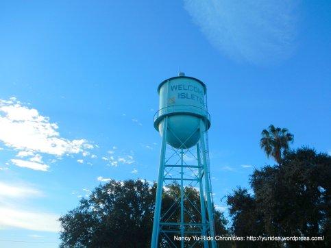 isleton water tower