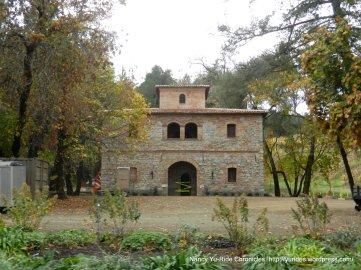 napa valley stone building