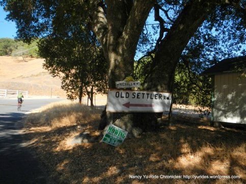 old settler rd sign