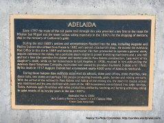 adelaida plaque