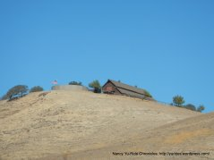 house on top of the hill