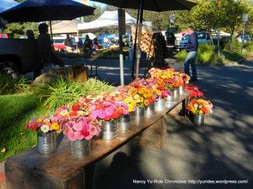 farmers market flowers