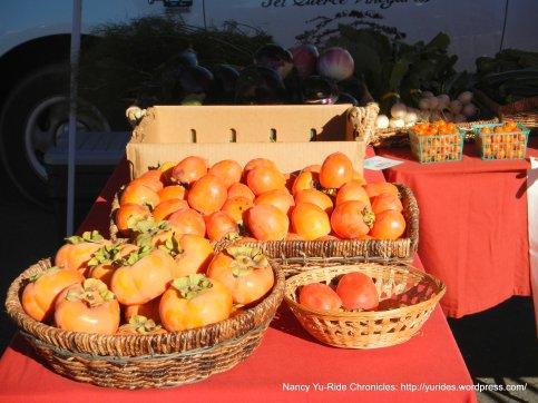 farmers market persimmons