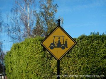 golf cart xing