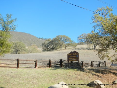 mt diablo south gate entrance