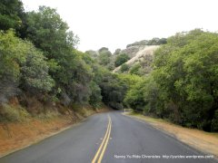 carquinez scenic dr/george mill er trail