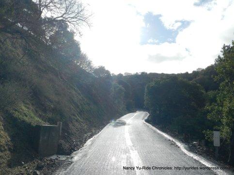 steep climb up mcewen rd