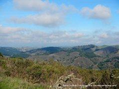 ridges and hills