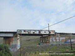 train trestle grafitti