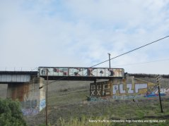 train trestle grafitti