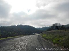 old briones rd trail staging area