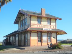 tran-continental railroad depot