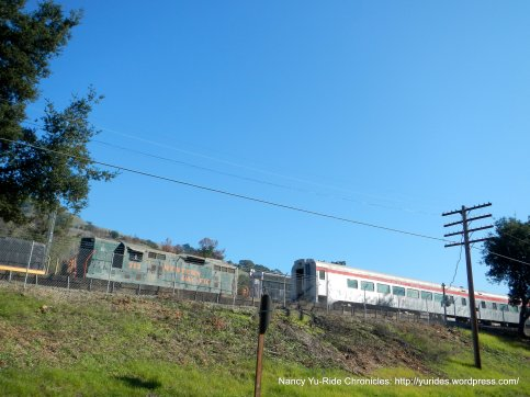 niles canyon trains