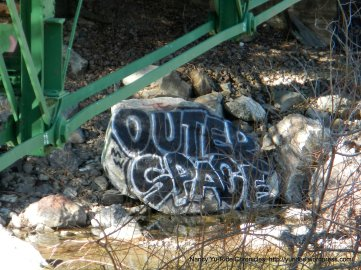 stone graffiti