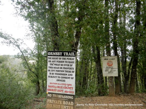 ormsby trail warning