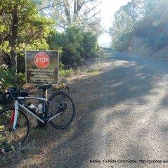 mt umunhum rd-end of public access road
