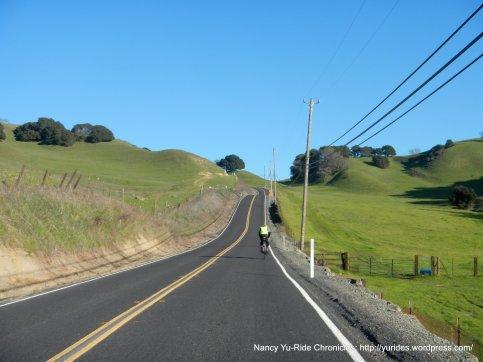 climb up west pig farm hill