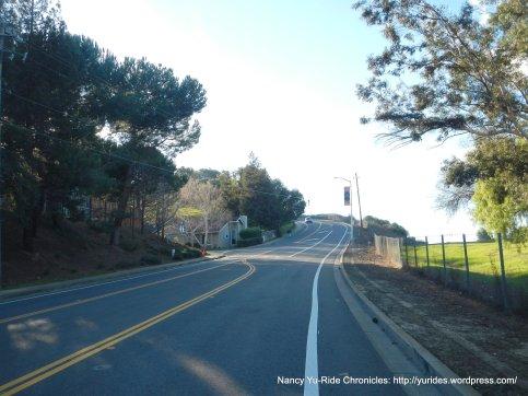 muir rd-steep climb