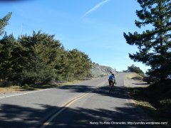 e ridgecrest blvd-steep section
