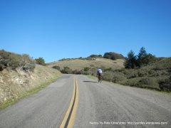 climb up Pine Mtn