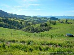 santa ana mountain landscape