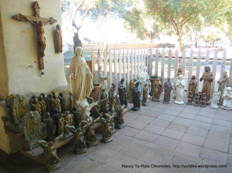 corridor statues