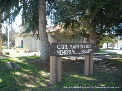 carl martin luck memorial library