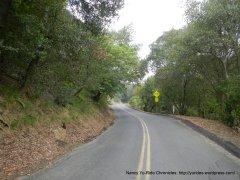 McEwen Rd-steep climb