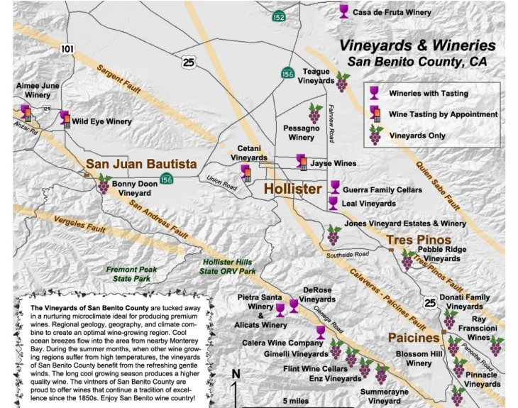 San Benito Wine Trail