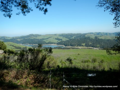 view of san pablo dam
