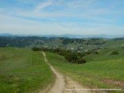 briones crest trail-alhambra valley views